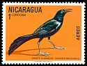 Cl: Great-tailed Grackle (Quiscalus mexicanus) <<Zanate clarinero>>  SG 1789 (1971) 50
