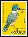 Cl: Belted Kingfisher (Ceryle alcyon) <<Mart&iacute;n pescador>>  SG 1790 (1971) 85
