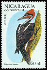 Cl: Lineated Woodpecker (Dryocopus lineatus) SG 2304 (1981) 15