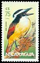 Cl: Great Kiskadee (Pitangus sulphuratus) <<Gran Kiskadee>> (Repeat for this country)  SG 2730 (1986)