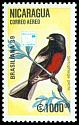 Cl: Painted Redstart (Myioborus pictus) SG 3063 (1989)