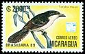 Cl: Great Antshrike (Taraba major) SG 3064 (1989)