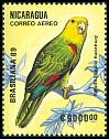Cl: Yellow-headed Parrot (Amazona oratrix) SG 3067 (1989)