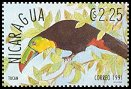 Cl: Keel-billed Toucan (Ramphastos sulfuratus)(Repeat for this country)  SG 3129 (1991) 100