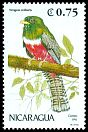 Cl: Collared Trogon (Trogon collaris) SG 3176 (1991)