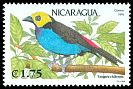 Cl: Paradise Tanager (Tangara chilensis)(Out of range)  SG 3179 (1991)