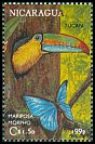 Cl: Keel-billed Toucan (Ramphastos sulfuratus) <<Tucan>> (Repeat for this country)  SG 3218 (1992)