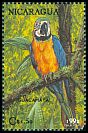 Cl: Blue-and-yellow Macaw (Ara ararauna) <<Guacamayo>> (Repeat for this country)  SG 3225 (1992)