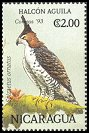 Cl: Ornate Hawk-Eagle (Spizaetus ornatus)(Repeat for this country)  SG 3284 (1994) 50