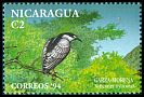 Cl: Black-crowned Night-Heron (Nycticorax nycticorax) <<Garza morena>> (Repeat for this country)  SG 3453 (1994)