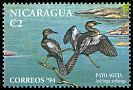 Cl: Anhinga (Anhinga anhinga) <<Pato aguja>> (Repeat for this country)  SG 3462 (1994)