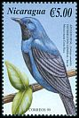 Cl: Lovely Cotinga (Cotinga amabilis) <<Azulejo real>> (Repeat for this country)  SG 3950 (2000)