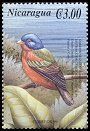 Cl: Painted Bunting (Passerina ciris)(Repeat for this country)  SG 3954i (2000)