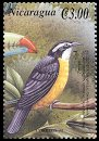 Cl: Bananaquit (Coereba flaveola)(Repeat for this country)  SG 3954g (2000)