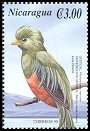 Cl: Resplendent Quetzal (Pharomachrus mocinno)(Repeat for this country)  SG 3954e (2000)
