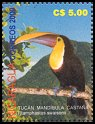 Cl: Black-mandibled Toucan (Ramphastos ambiguus) <<Tucan mandibula castana>>  SG 4032a (2001)  I have 5 spare [1/28]