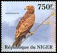 Cl: Lesser Spotted Eagle (Aquila pomarina)(I do not have this stamp) (not catalogued)  (2013)