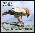 Cl: Tawny Eagle (Aquila rapax)(I do not have this stamp) (not catalogued)  (2013)