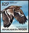 Cl: Steppe Eagle (Aquila nipalensis)(I do not have this stamp) (not catalogued)  (2015)