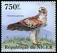 Cl: Booted Eagle (Aquila pennata)(I do not have this stamp) (not catalogued)  (2013)