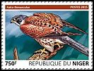 Cl: Eurasian Kestrel (Falco tinnunculus)(I do not have this stamp) (not catalogued)  (2015)