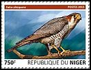 Cl: Red-necked Falcon (Falco chicquera)(I do not have this stamp) (not catalogued)  (2015)