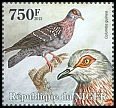 Cl: Speckled Pigeon (Columba guinea)(I do not have this stamp) (not catalogued)  (2013)
