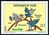 Cl: Woodland Kingfisher (Halcyon senegalensis) <<Martin pecheur du Senegal>> (Repeat for this country)  SG 1302 (2002)