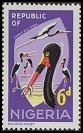 Cl: Saddle-billed Stork (Ephippiorhynchus senegalensis) SG 178 (1965) 175