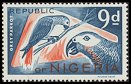 Cl: Grey Parrot (Psittacus erithacus)(Repeat for this country)  SG 179 (1965) 300