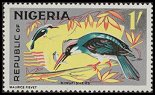 Cl: Blue-breasted Kingfisher (Halcyon malimbica) SG 180 (1965) 200 [2/17]