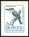 Cl: Collared Kingfisher (Todirhamphus chloris)(Repeat for this country)  SG 28 (1983)