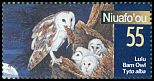 Cl: Barn Owl (Tyto alba)(Repeat for this country)  SG 308 (2001)
