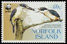 Cl: Sacred Kingfisher (Todirhamphus sanctus)(Repeat for this country)  SG 895 (2004)