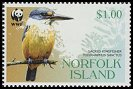 Cl: Sacred Kingfisher (Todirhamphus sanctus)(Repeat for this country)  SG 896 (2004)