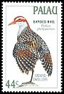 Cl: Buff-banded Rail (Gallirallus philippensis) SG 230 (1988) 50