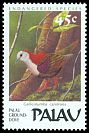 Cl: Palau Ground-Dove (Gallicolumba canifrons) SG 249 (1989)
