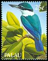 Cl: Collared Kingfisher (Todirhamphus chloris) SG 306 (1989)