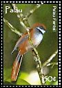 Cl: Palau Fantail (Rhipidura lepida)(Endemic or near-endemic)  SG 2275 (2007)  [4/23]