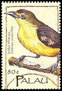 Cl: Caroline Islands White-eye (Zosterops semperi)(Endemic or near-endemic)  SG 2008c4 (2004)  [3/31]