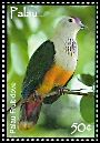 Cl: Palau Fruit-Dove (Ptilinopus pelewensis)(Endemic or near-endemic)  SG 2269 (2007)  [4/22]