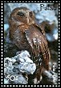 Cl: Palau Owl (Pyrroglaux podarginus)(Endemic or near-endemic)  SG 2268 (2007)  [4/22]