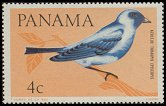 Cl: Blue-grey Tanager (Thraupis episcopus) <<Azulejo>>  SG 918 (1965) 8