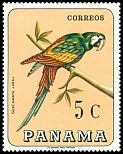 Cl: Chestnut-fronted Macaw (Ara severa)(Repeat for this country)  SG 948 (1967)