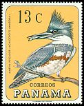 Cl: Belted Kingfisher (Ceryle alcyon) SG 949 (1967) 55