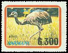 Cl: Greater Rhea (Rhea americana) <<&Ntilde;and&uacute;>>  SG 1283 (1989)