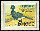 Cl: Bare-faced Curassow (Crax fasciolata) <<Mytu>>  SG 1285 (1989) 0
