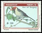 Cl: Yellow-billed Cardinal (Paroaria capitata) <<Aca pyta>>  SG 1449 (1994)