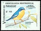 Cl: Tropical Parula (Parula pitiayumi)(Repeat for this country)  SG 1469 (1995)