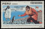 Cl: Adelie Penguin (Pygoscelis adeliae)(Out of range)  SG 1758 (1991) 300 [3/15]